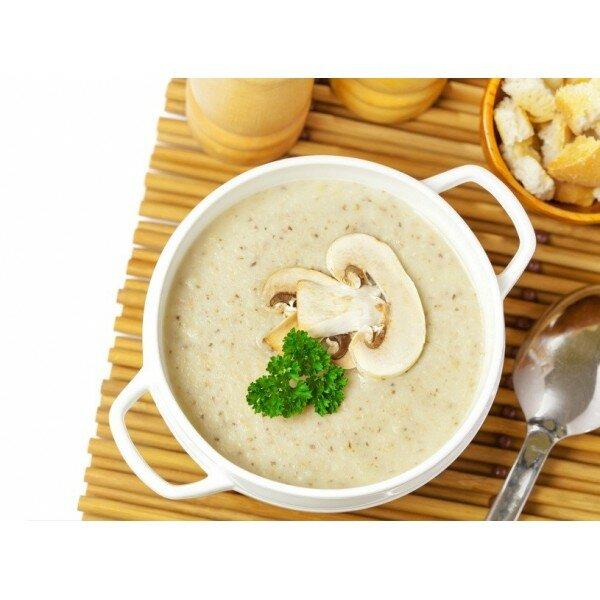 Крем – суп из белых грибов